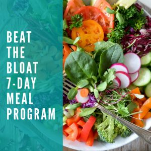 Beat the Bloat 7-Day Meal Program