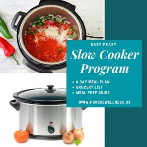 Easy Peasy Slow Cooker Program