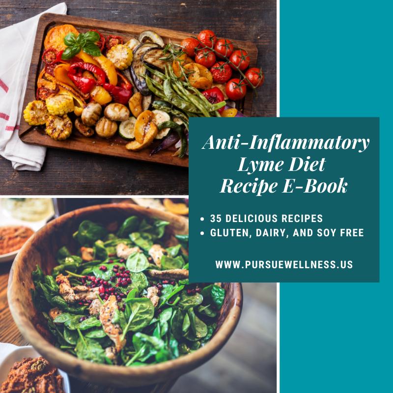 Anti-Inflammatory Lyme Diet Recipe E-Book